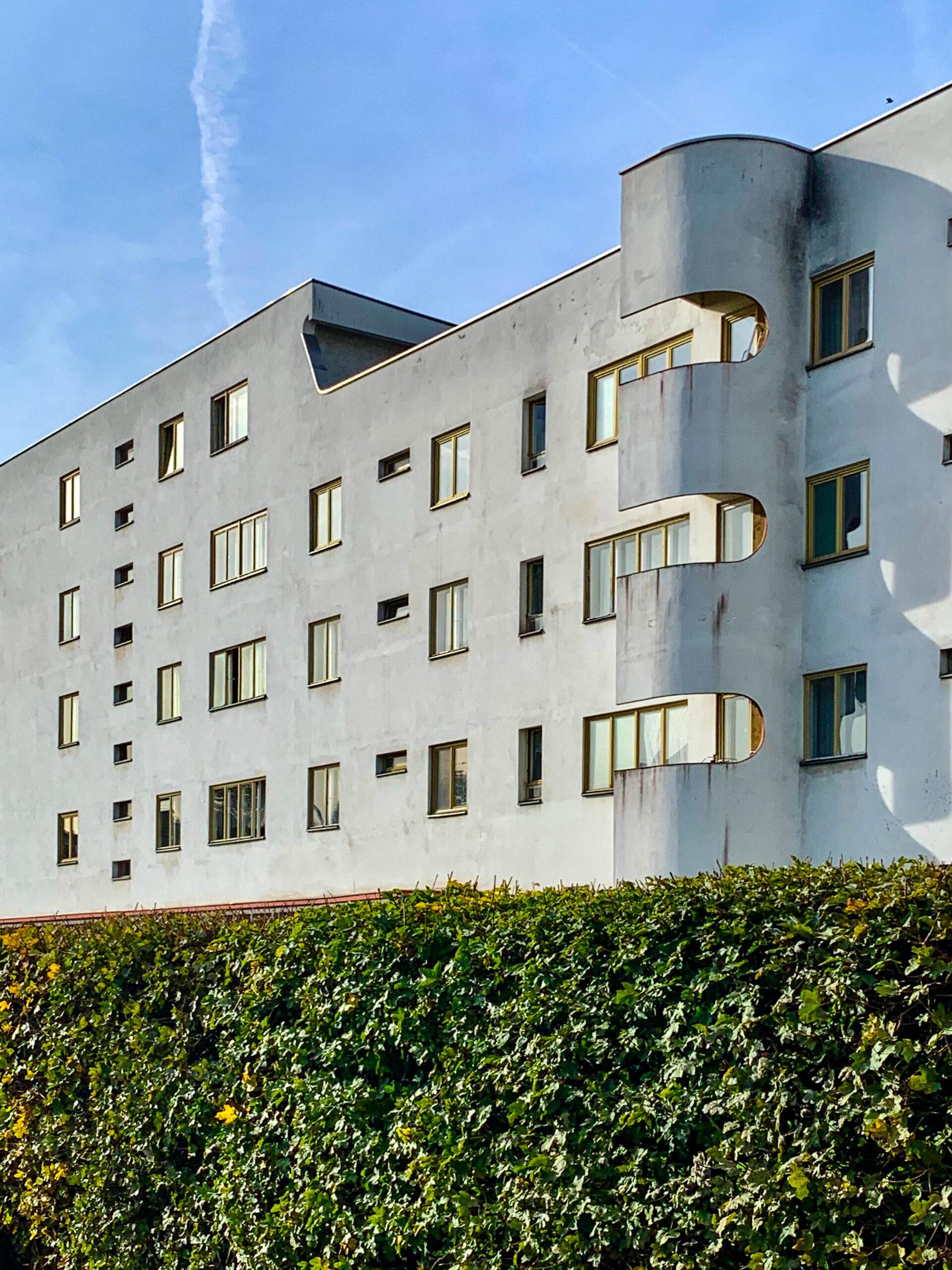 Residential complex Panzerkreuzer, 1929-1930. Architect: Hans Scharoun