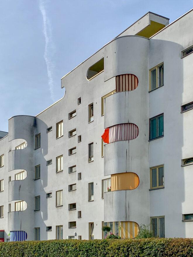 Wohnanlage, 1929-1930. Architekt: Hans Scharoun