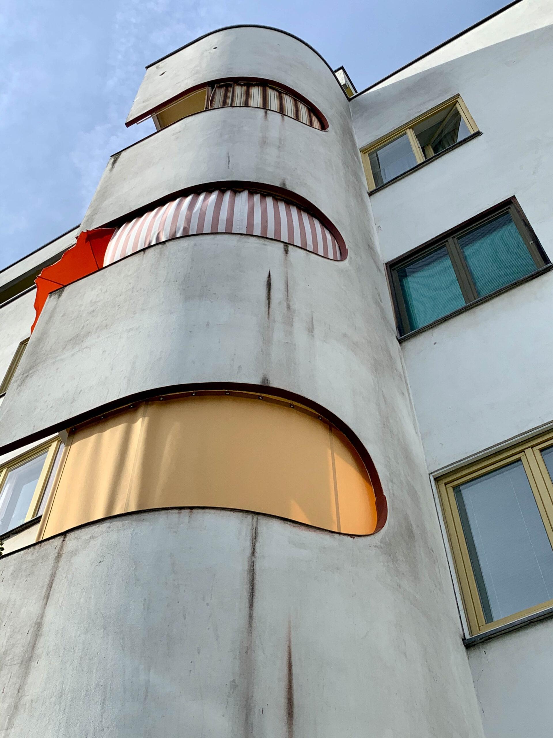 Wohnanlage Panzerkreuzer, 1929-1930. Architekt: Hans Scharoun