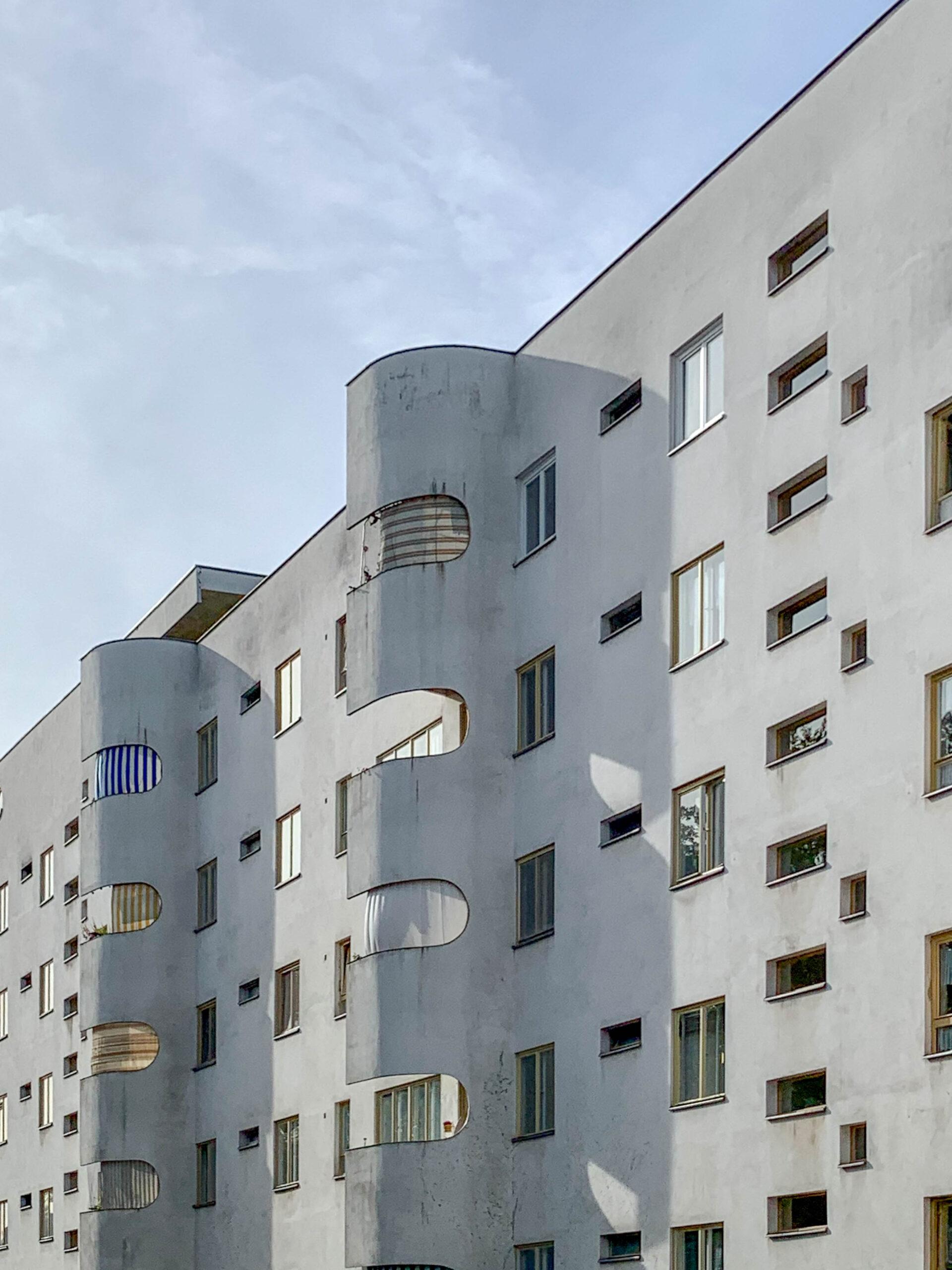 Residential complexPanzerkreuzer, 1929-1930. Architect: Hans Scharoun