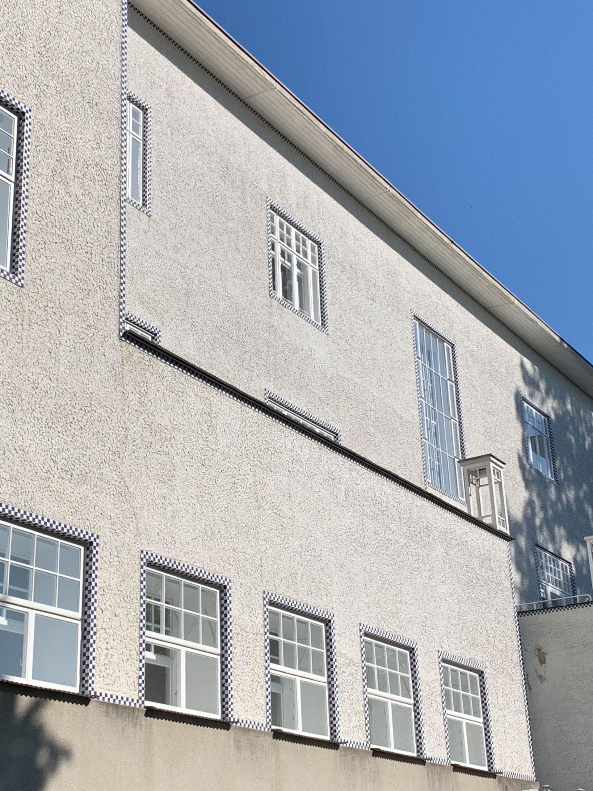 Sanatorium, 1904-1905. Architect: Josef Hoffmann