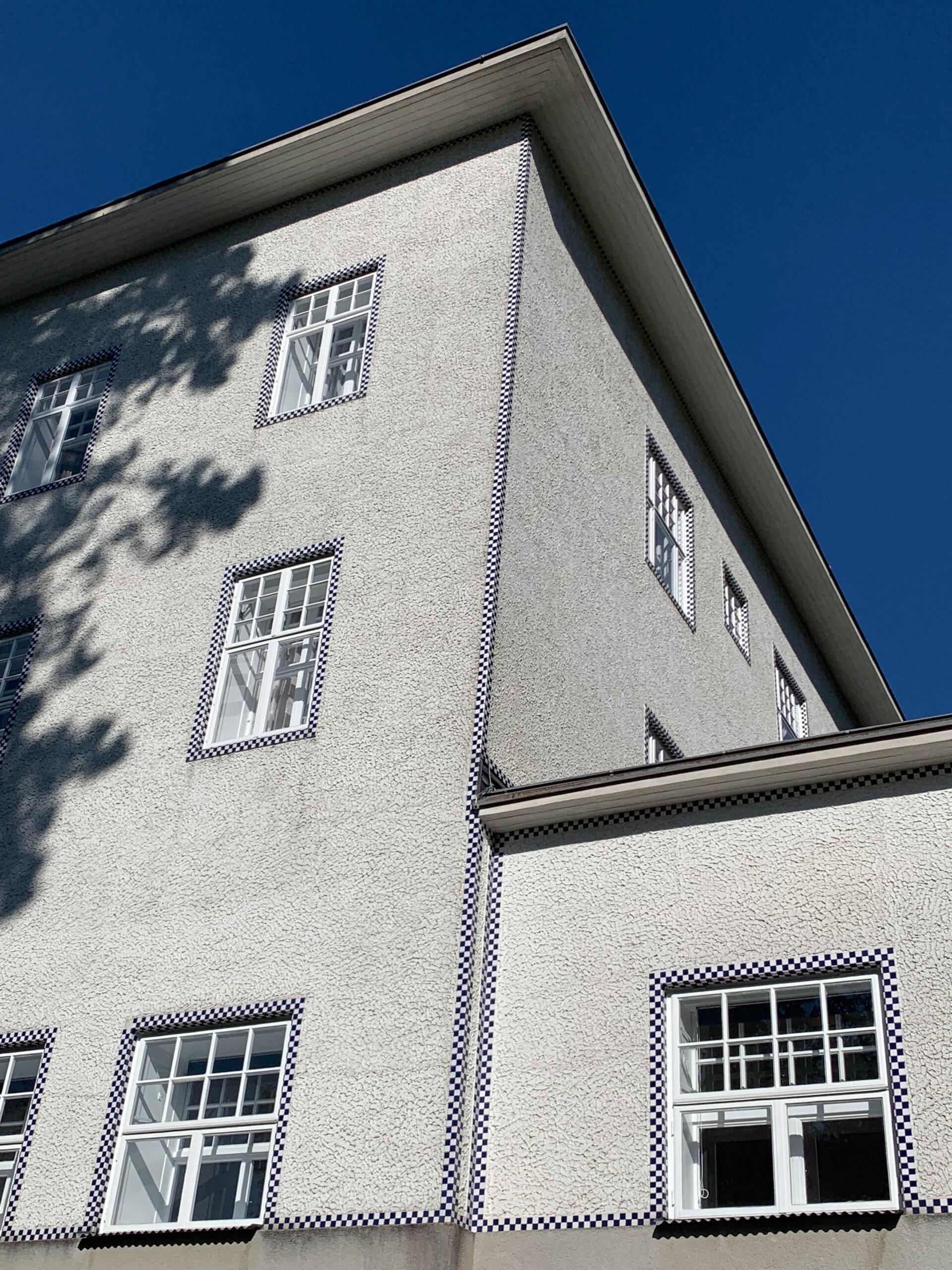 Sanatorium, 1904-1905. Architekt: Josef Hoffmann