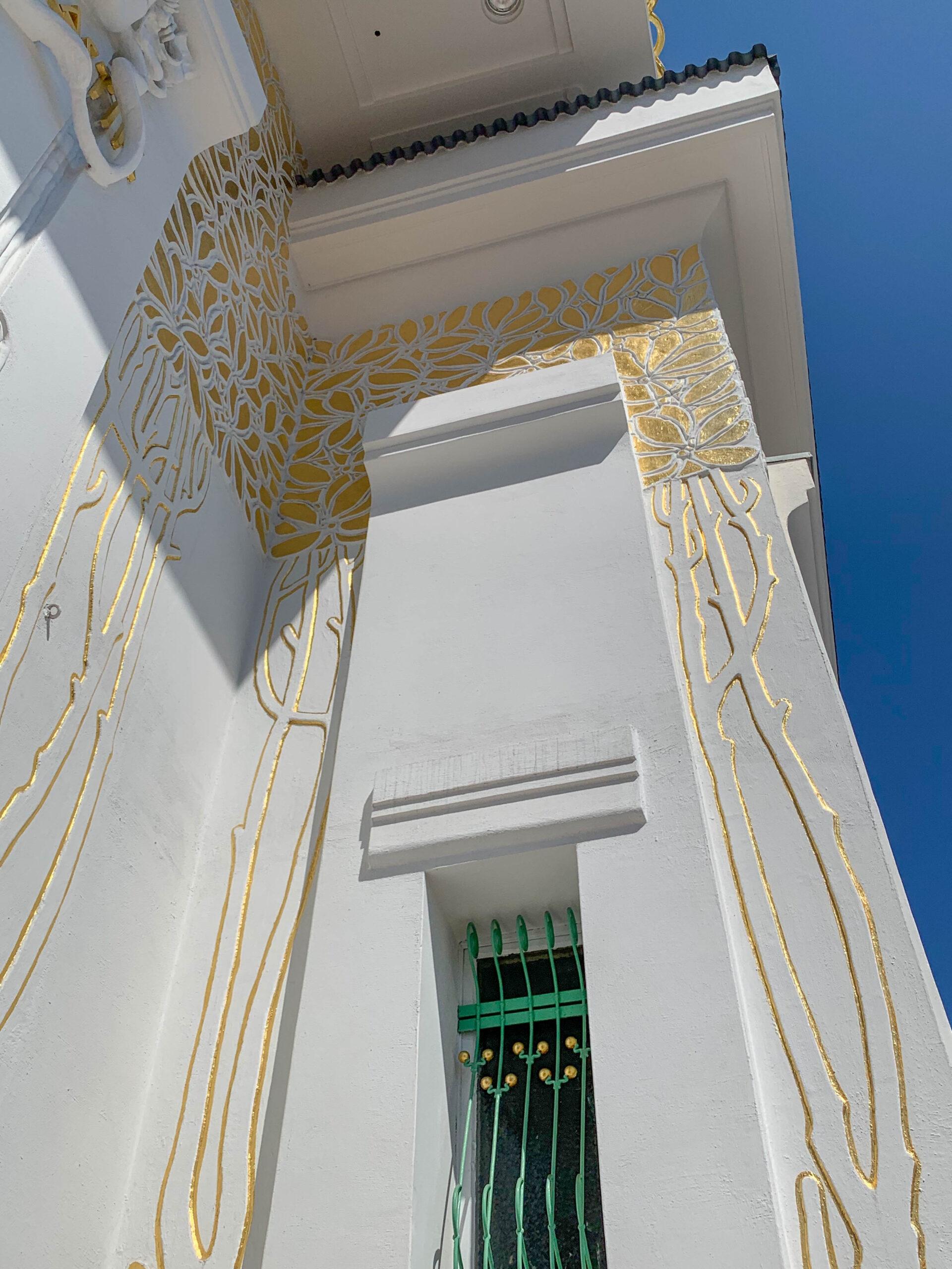 Ausstellungsgebäude der Wiener Secession, 1897-1898. Architekt: Joseph Maria Olbrich
