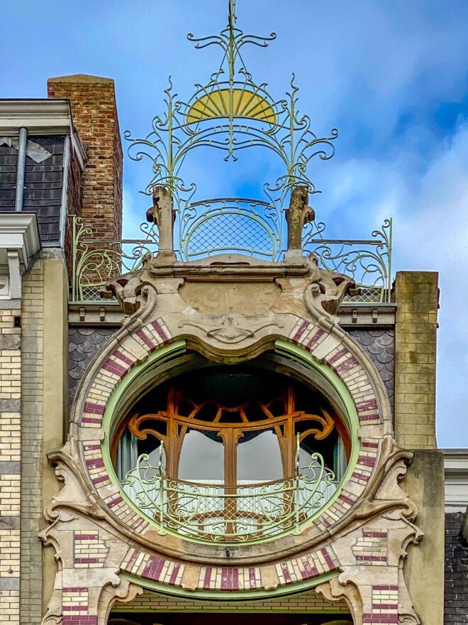 Maison Saint-Cyr, 1901-1903. Architekt: Gustave Strauven