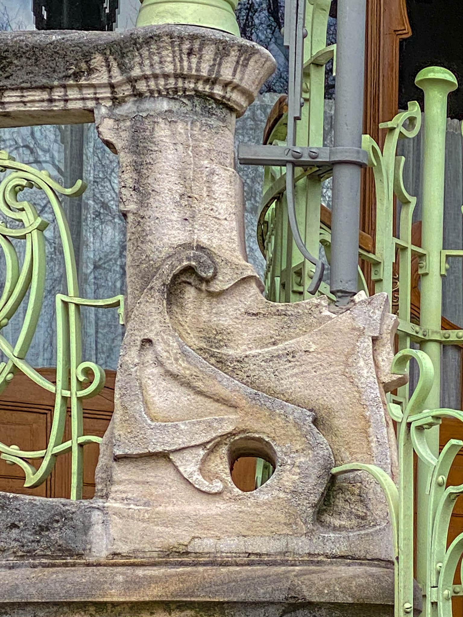 Maison Saint-Cyr, 1901-1903. Architect: Gustave Strauven
