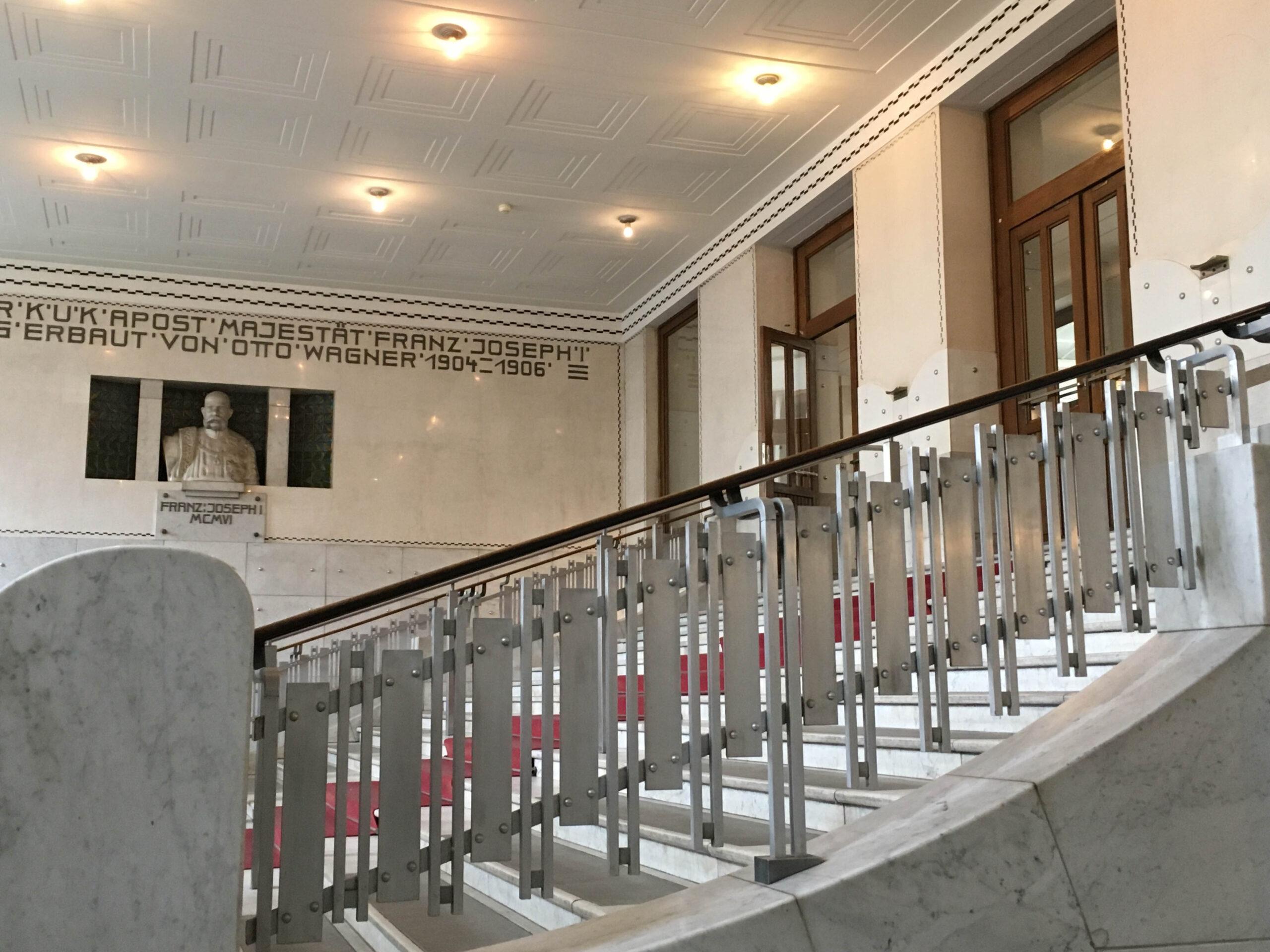 Postal Savings Bank, 1904-1912. Architect: Otto Wagner