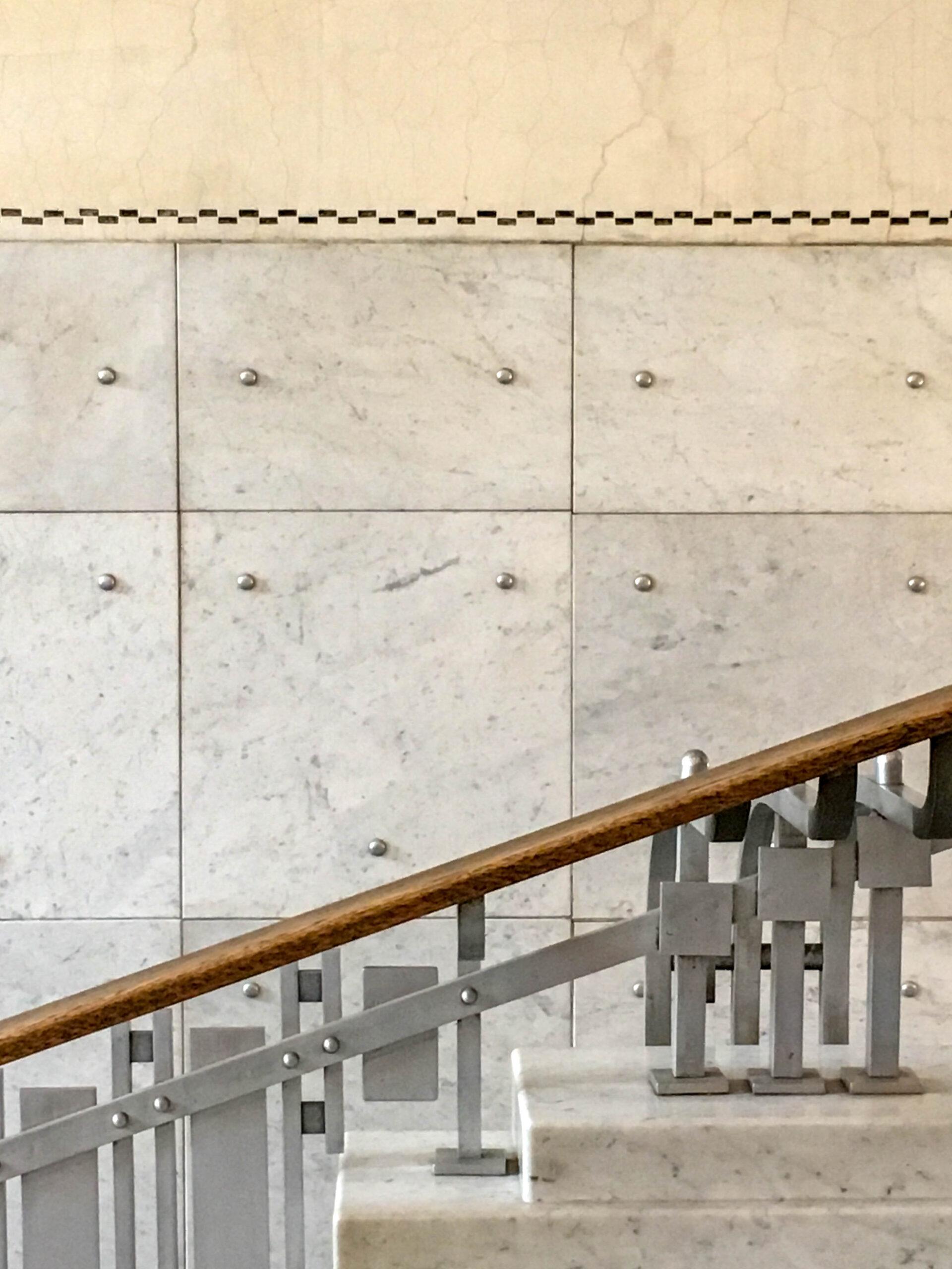 Postsparkasse, 1904-1912. Architekt: Otto Wagner