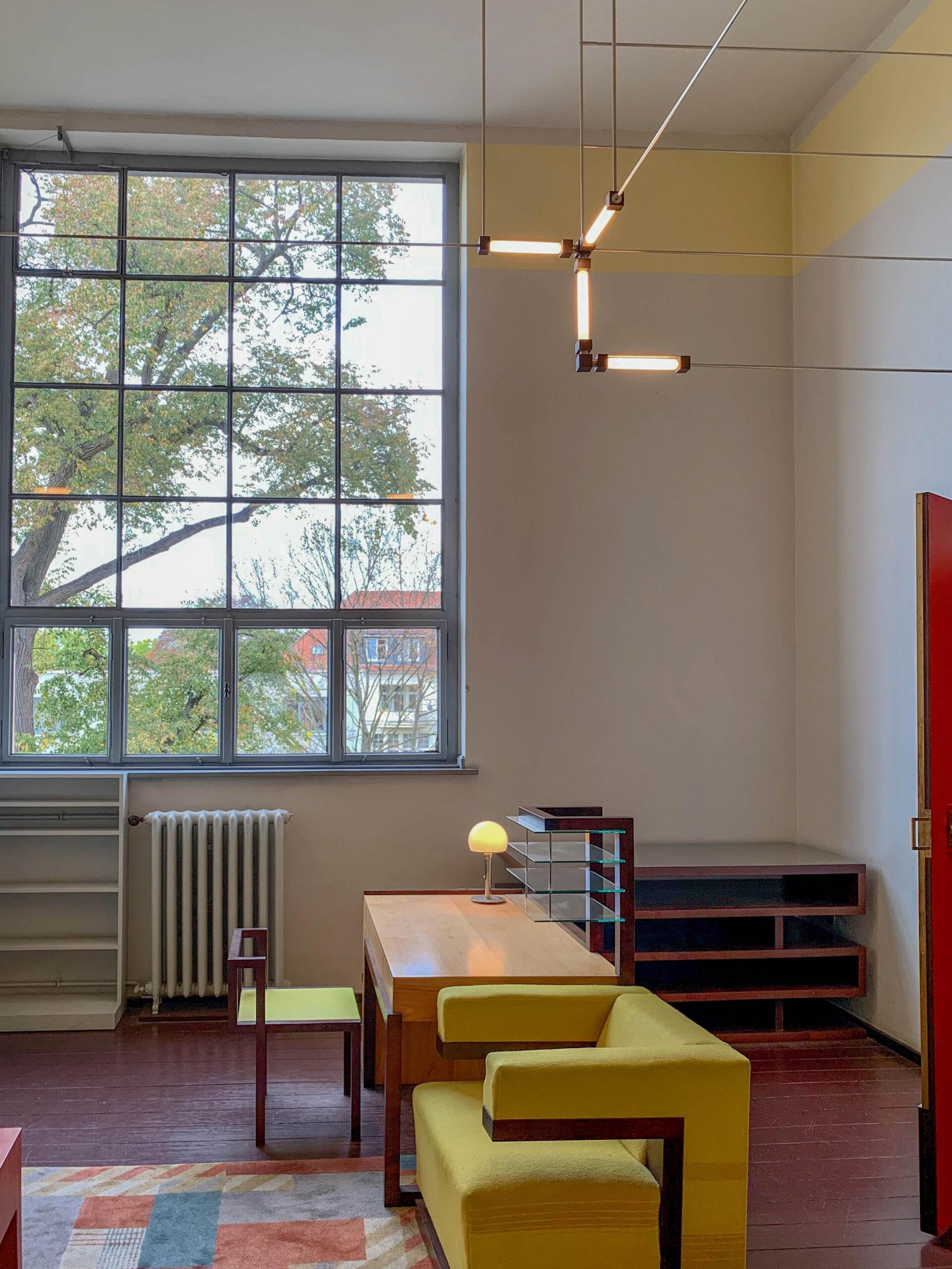 Director's Office, 1923. Design: Walter Gropius