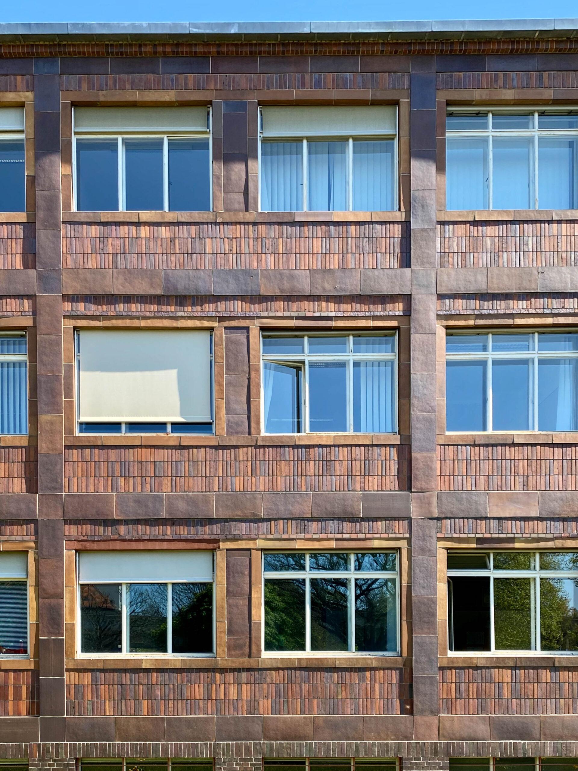 Reichsknappschaftshaus, 1929-1930. Architekten: Max Taut, Franz Hoffmann