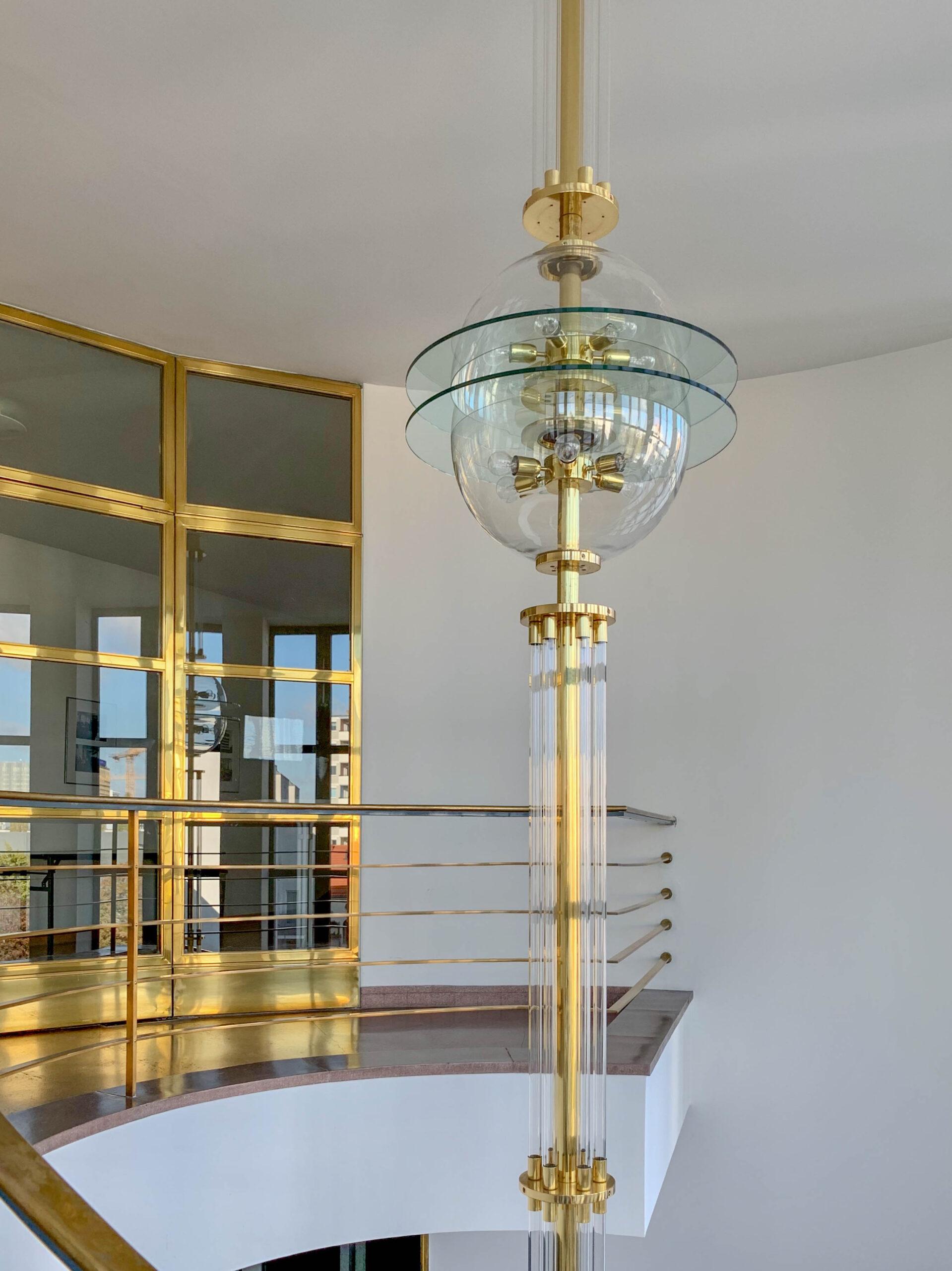 Haus des Deutschen Metallarbeiterverbandes, 1929-1930. Architekten: Erich Mendelsohn, Rudolf Reichel