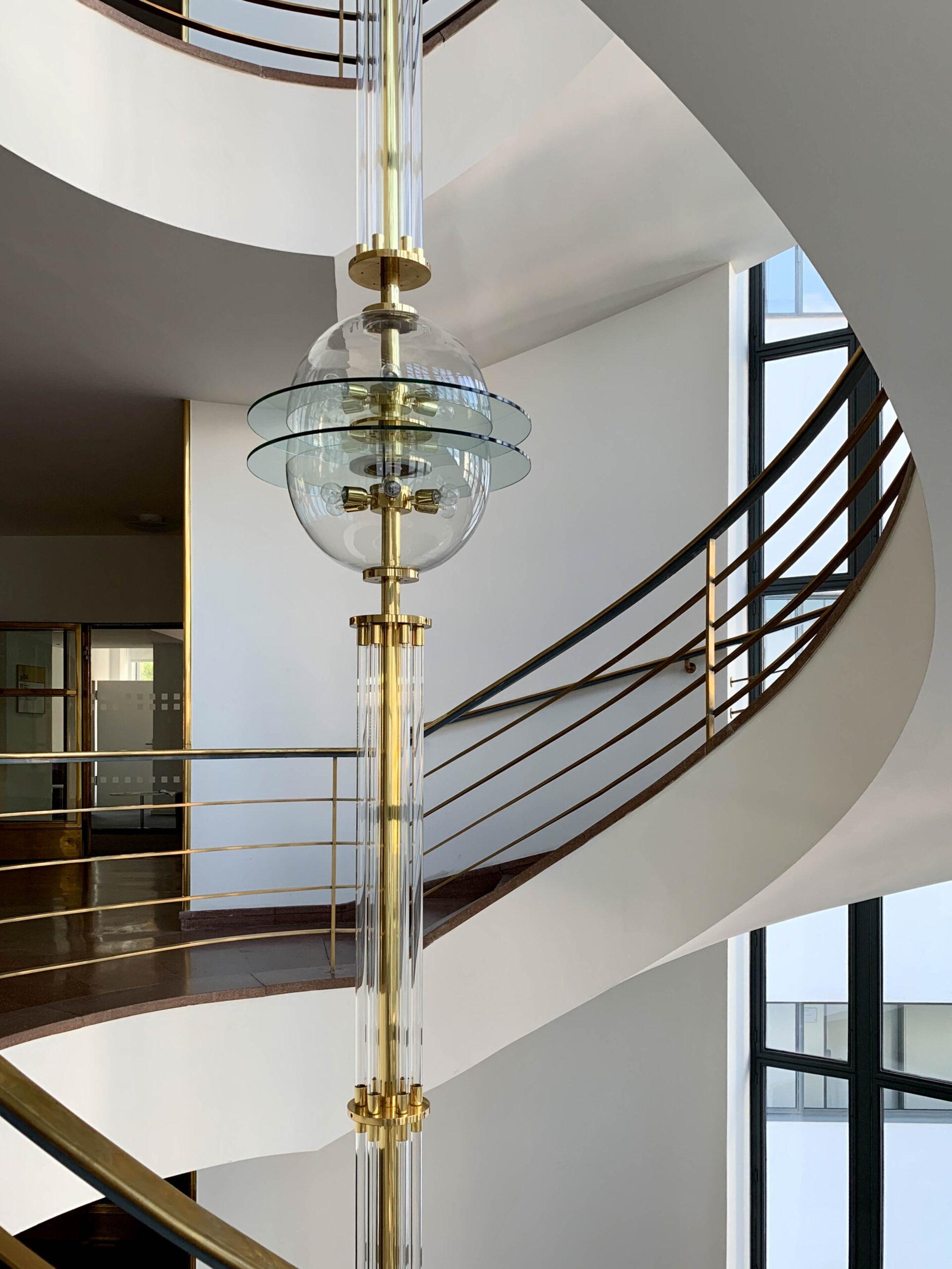 Haus des Deutschen Metallarbeiterverbandes, 1929-1930. Architects: Erich Mendelsohn, Rudolf Reichel