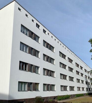 Wohnanlage, Siemensstadt, 1929-1931. Architekt: Walter Gropius