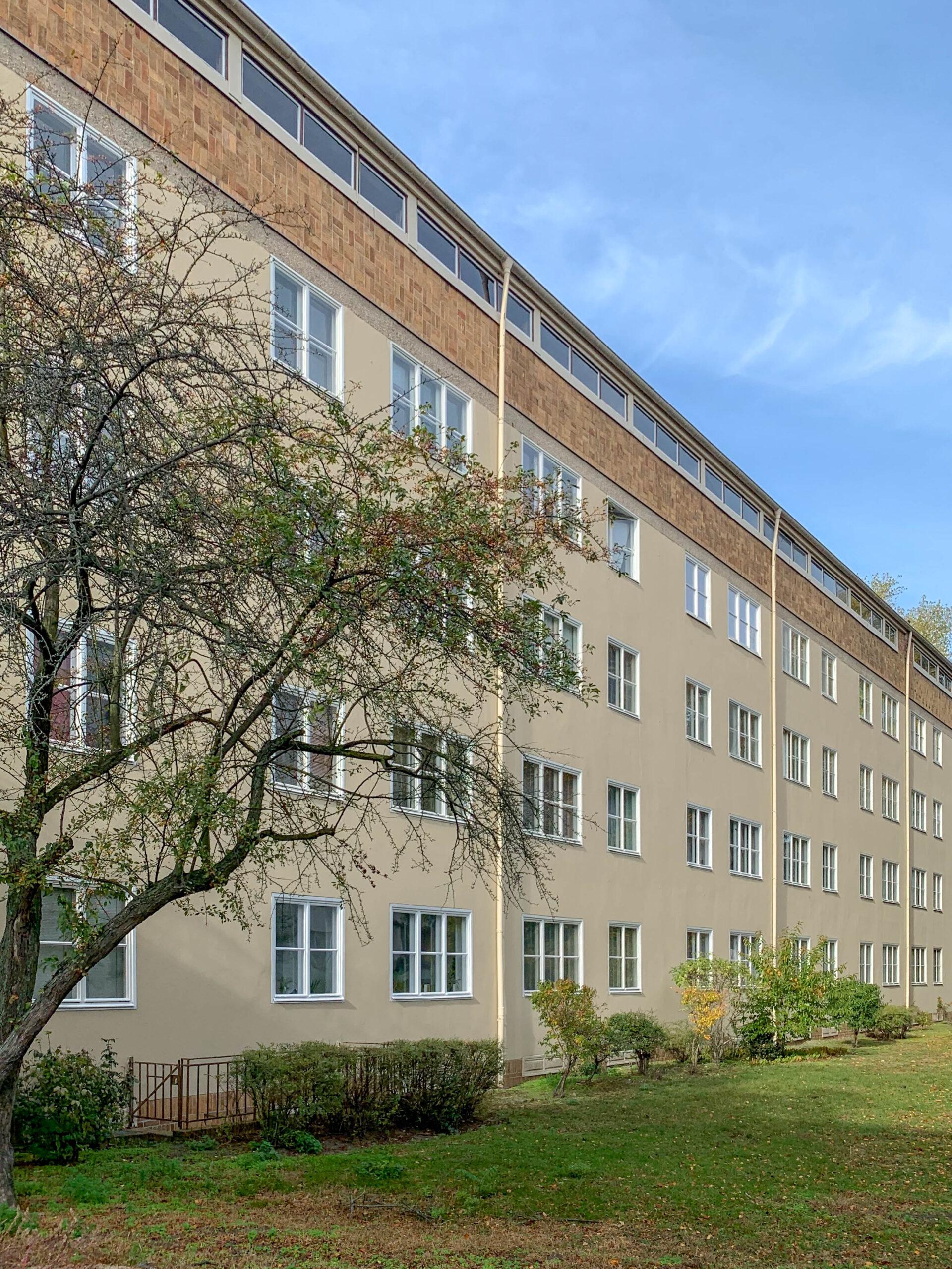 Wohnanlage, Siemensstadt, 1929-1931. Architekt: Hugo Häring