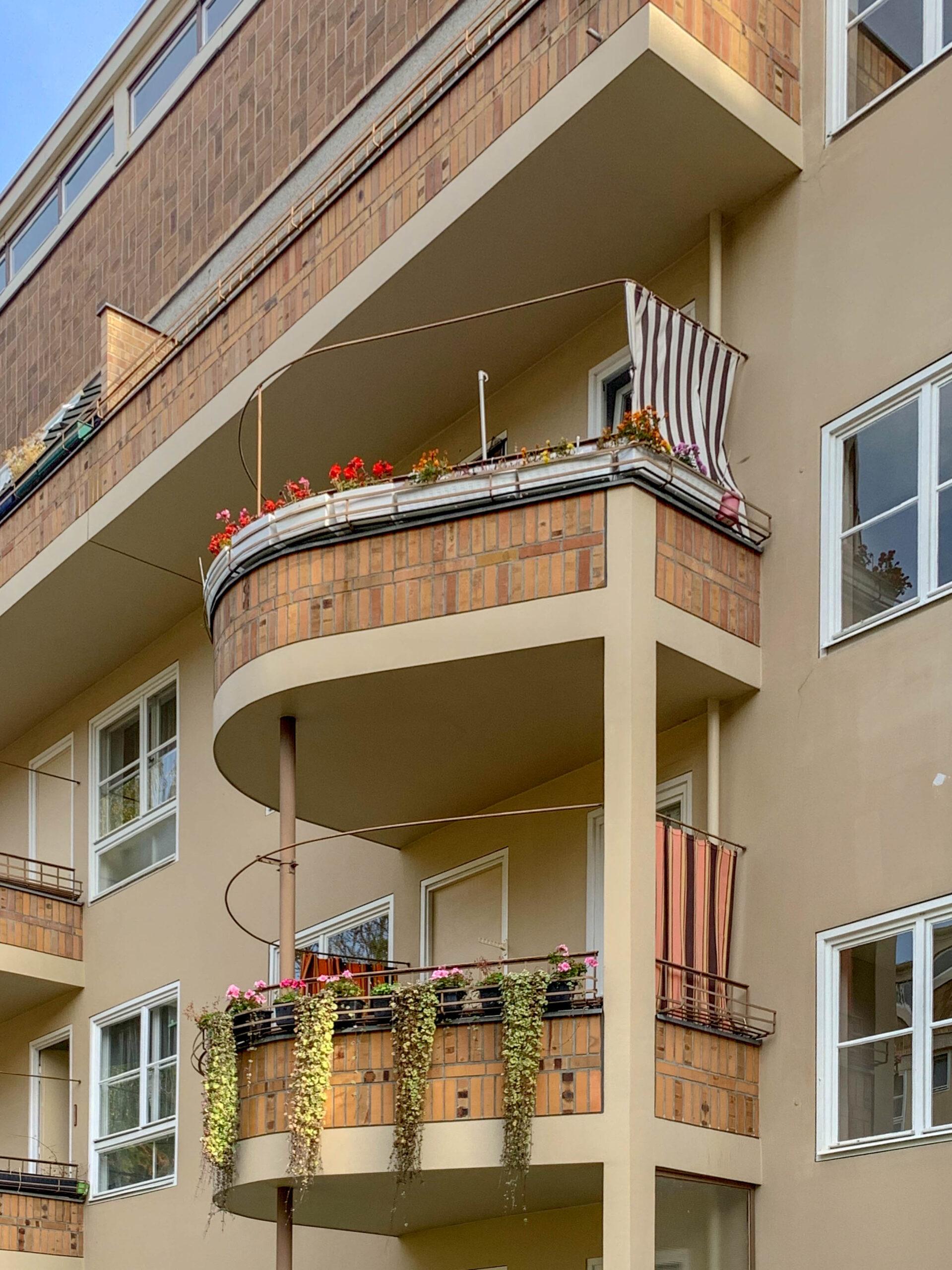 Residential complex, Siemensstadt, 1929-1931. Architect: Hugo Häring