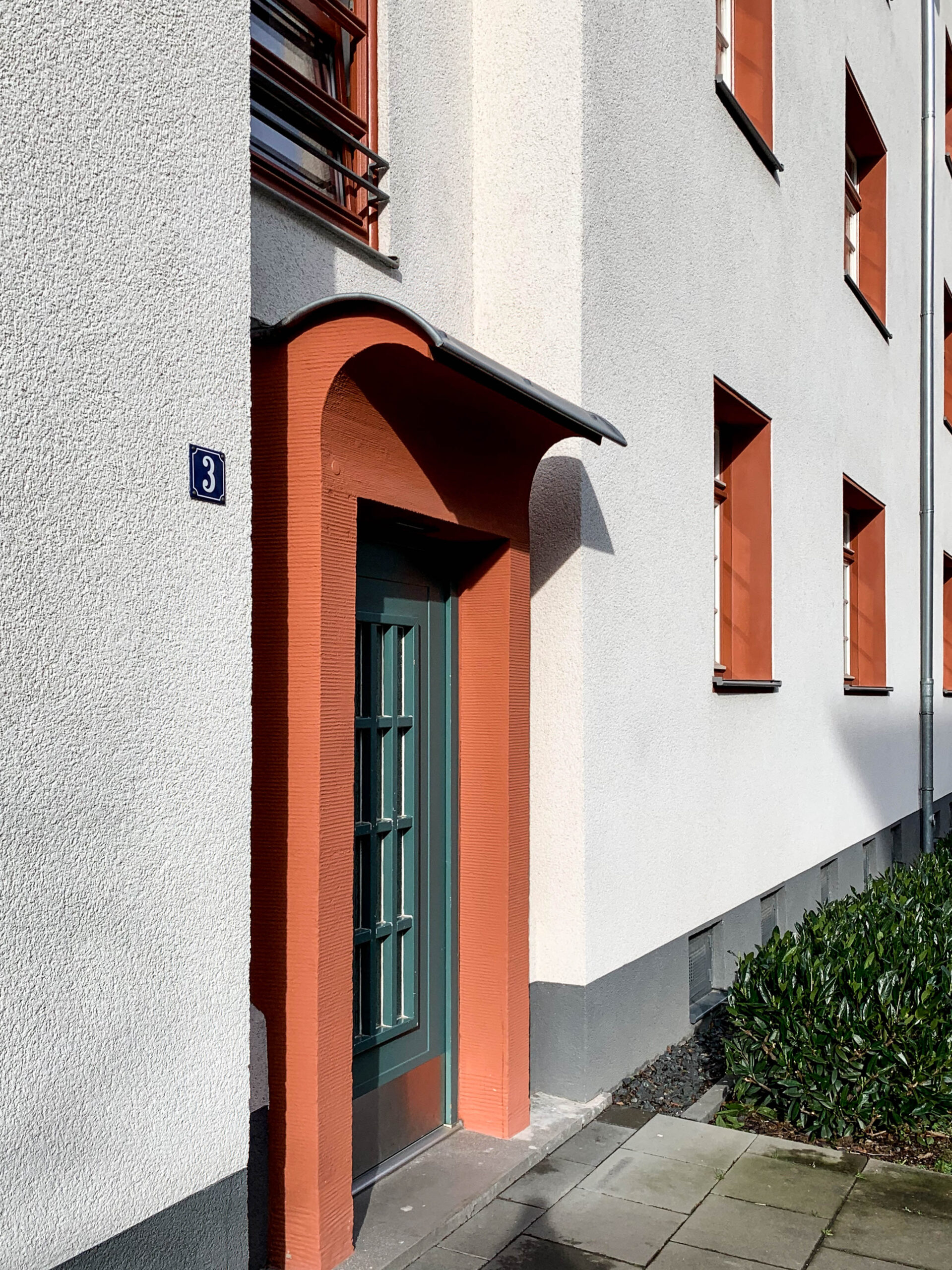 Naumann Siedlung, 1927-1929. Architekten: Manfred Faber, Otto Scheib, Fritz Fuß, Hans Heinz Lüttgen