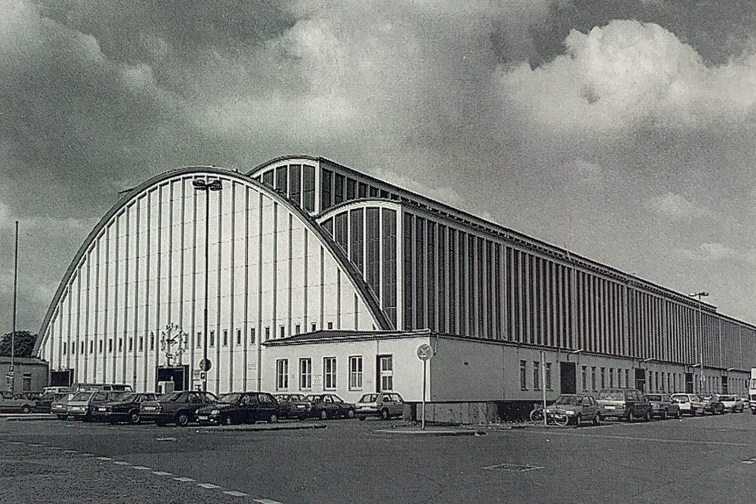 Großmarkthalle, 1935-1940. Entwurf: Theodor Teichen, Ulrich Finsterwalder