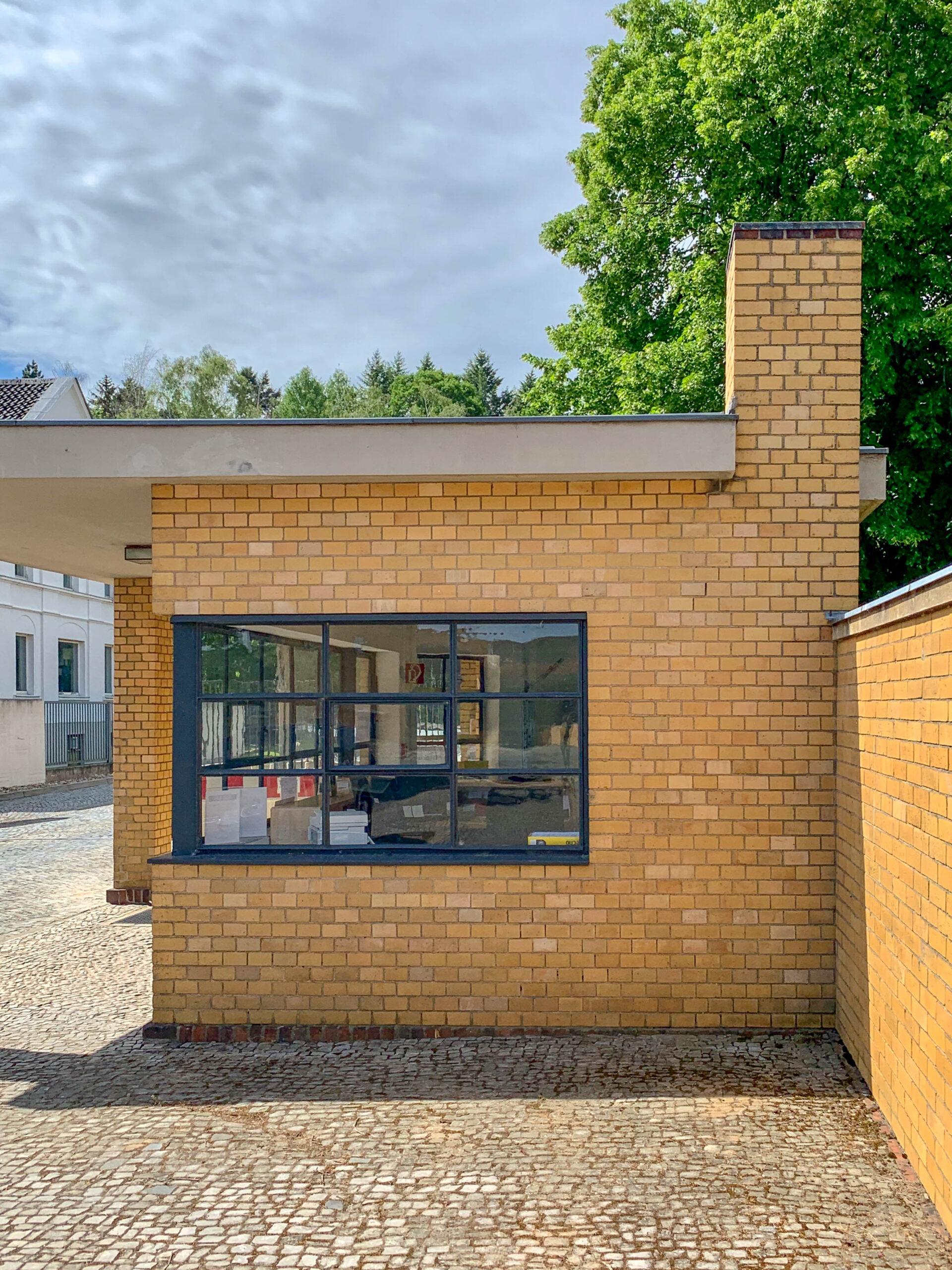 Fagus-Werk, 1911-1915. Architekten: Walter Gropius, Adolf Meyer