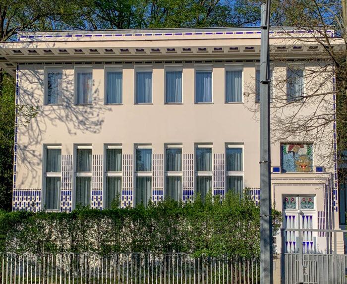 Villa Wagner II, 1912-1913. Architect: Otto Wagner