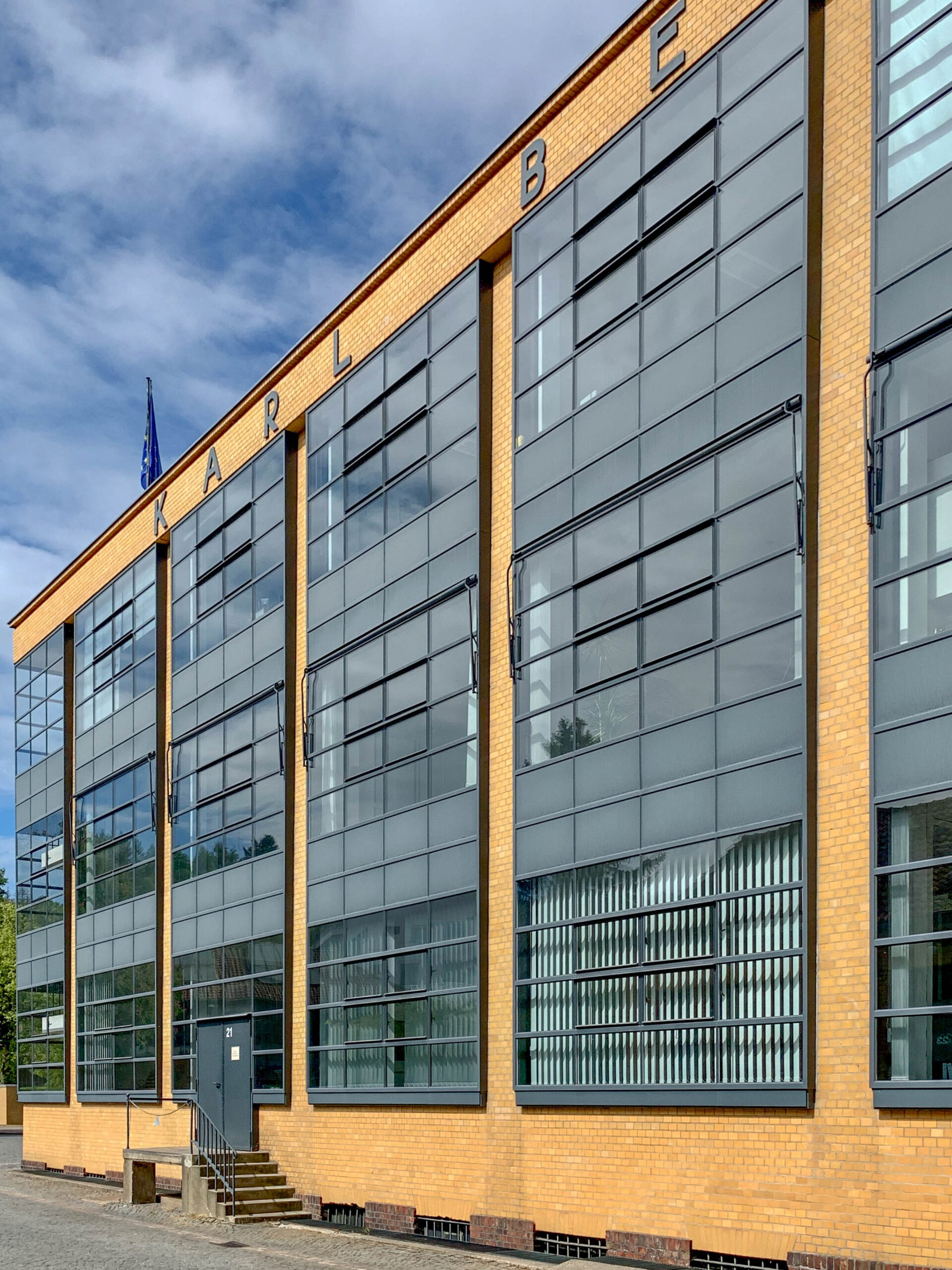 Fagus Factory, 1911-1915. Architects: Walter Gropius, Adolf Meyer