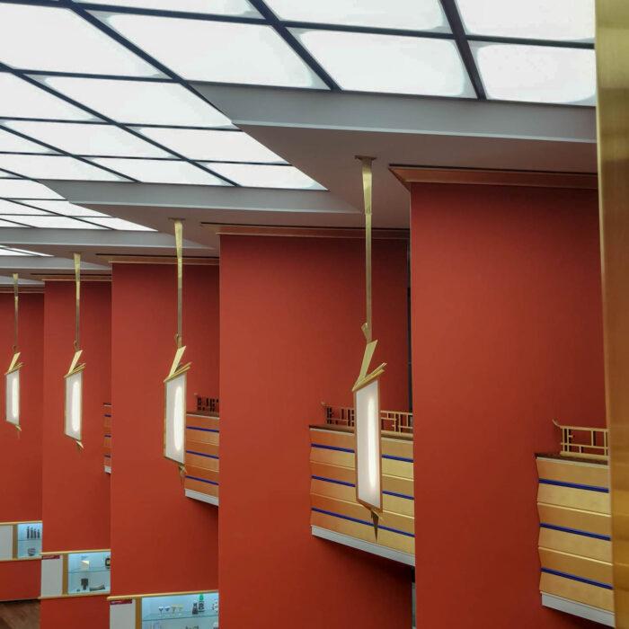 Grassimuseum, 1925-1929. Architects: Carl Wilhelm Zweck, Hans Voigt, Hubert Ritter