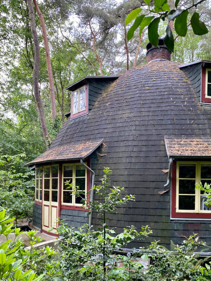 Glockenhaus, 1926. Erbaut von Edwin Koenemann nach einem Entwurf von Bruno Taut