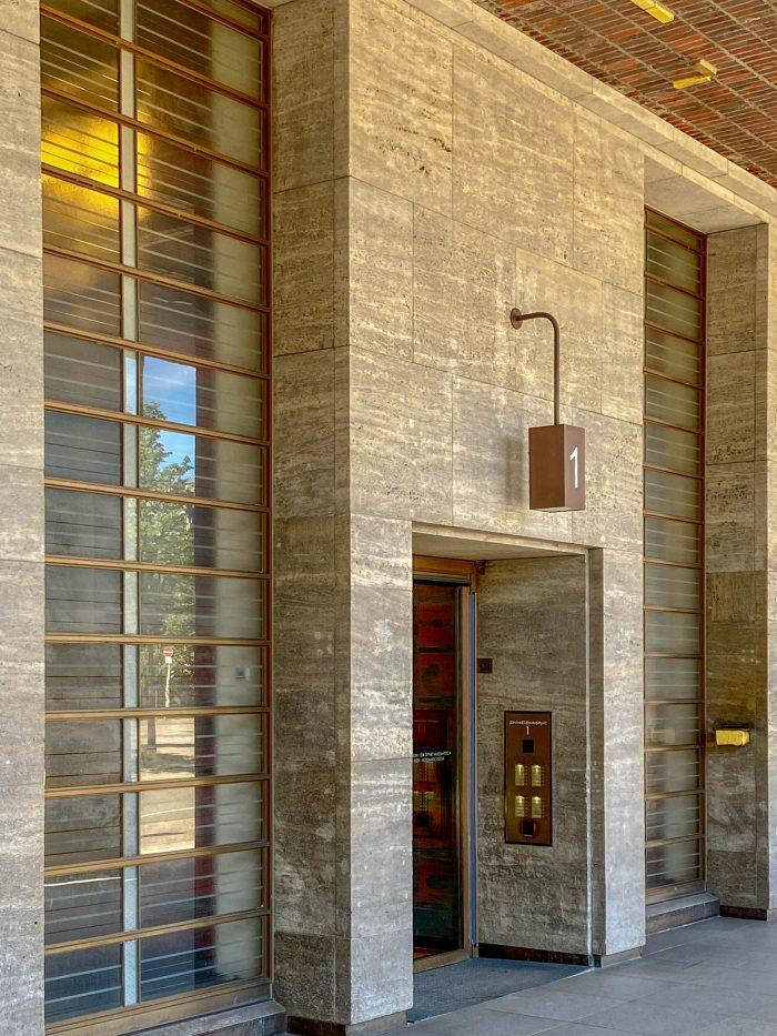 Brahms Kontor, 1929-1931. Architekten: Ferdinand Sckopp, Wilhelm Vortmann