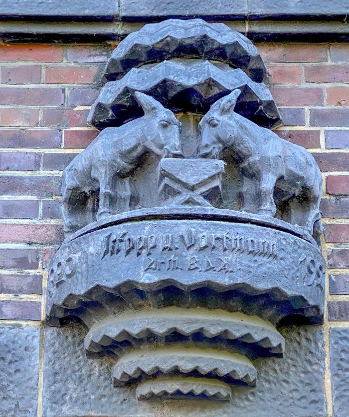 Brahms Kontor, 1919-1921. Architekten: Ferdinand Sckopp, Wilhelm Vortmann