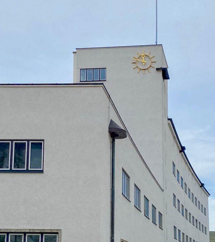 Main post office, 1929-1931. Architects: Robert Simm, Karl Meier, Georg Rosenauer