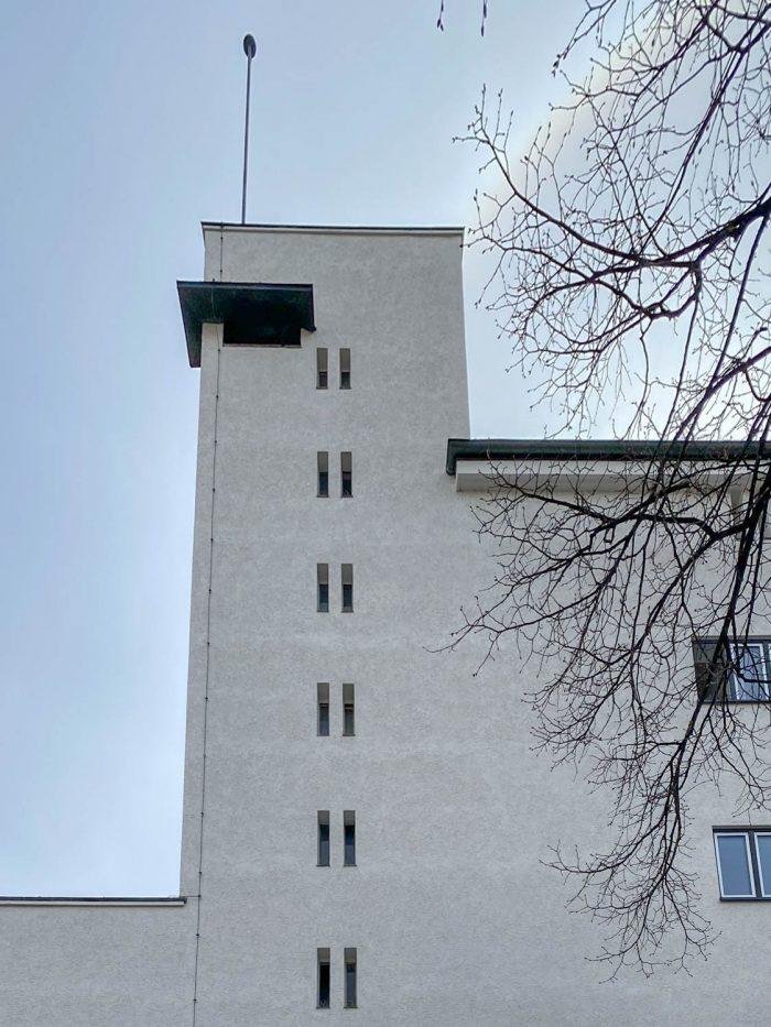 Hauptpostamt, 1929-1931. Architekten: Robert Simm, Karl Meier, Georg Rosenauer