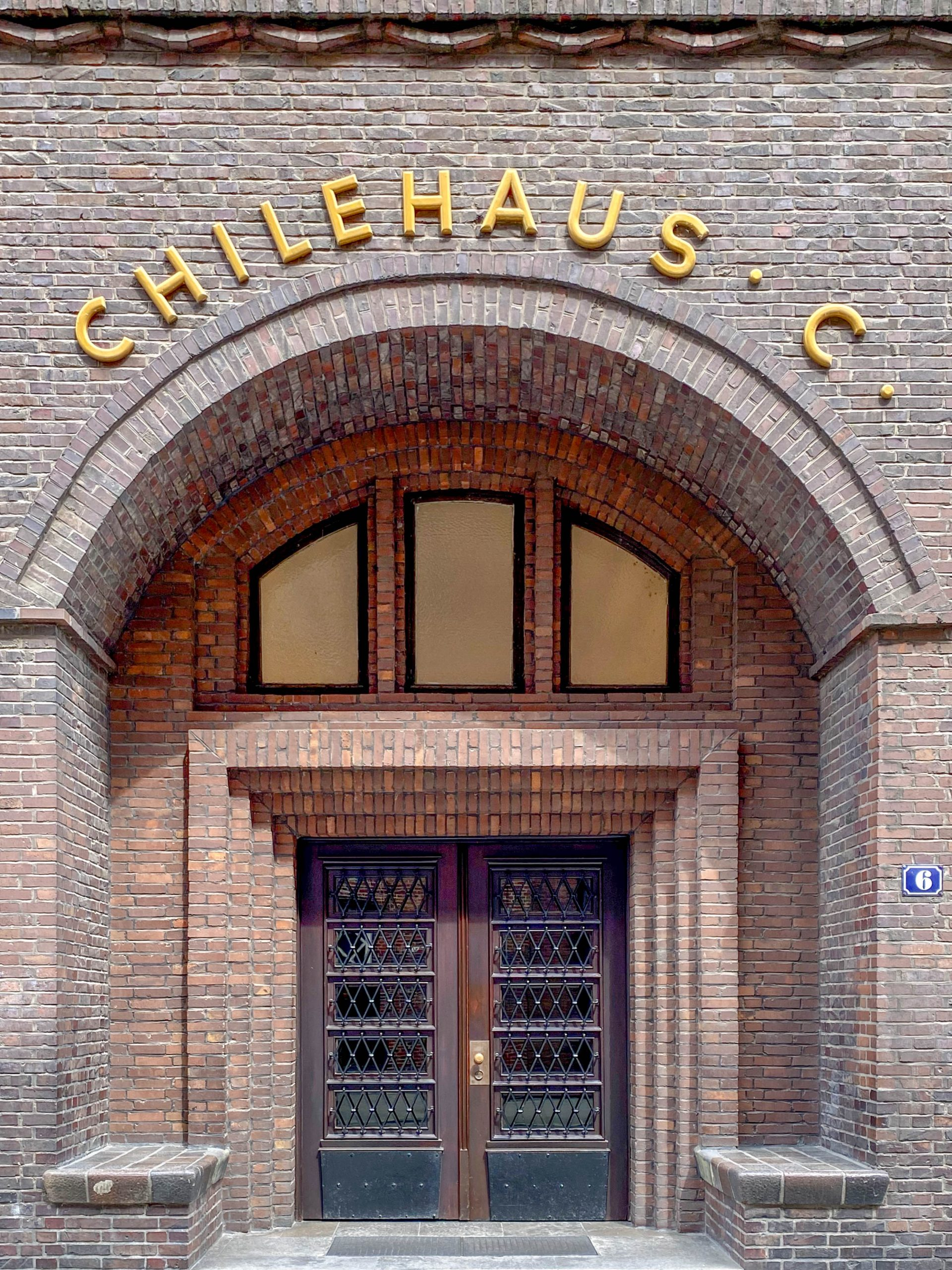 Chilehaus, 1922-1924. Architect: Fritz Höger