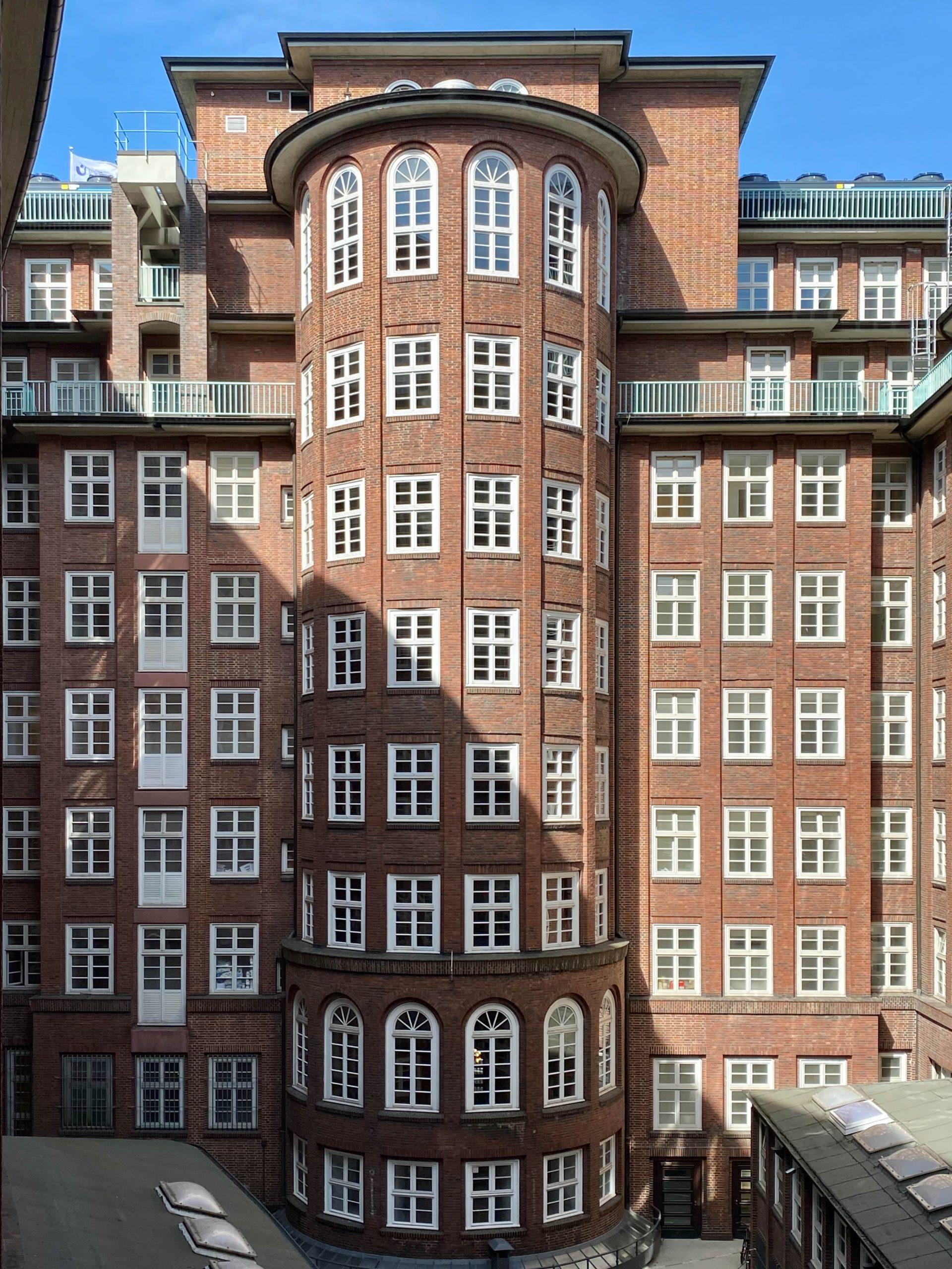Chilehaus, 1922-1924. Architekt: Fritz Höger