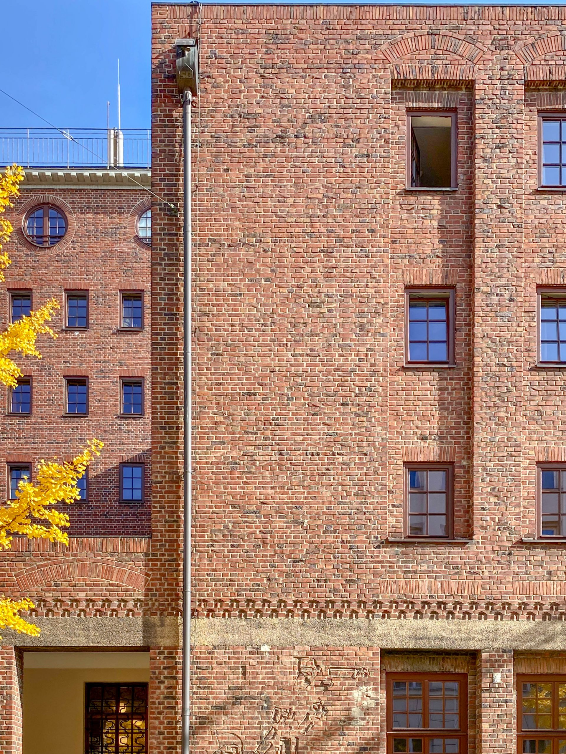 Ledigenheim, 1925-1927. Architekt: Theodor Fischer