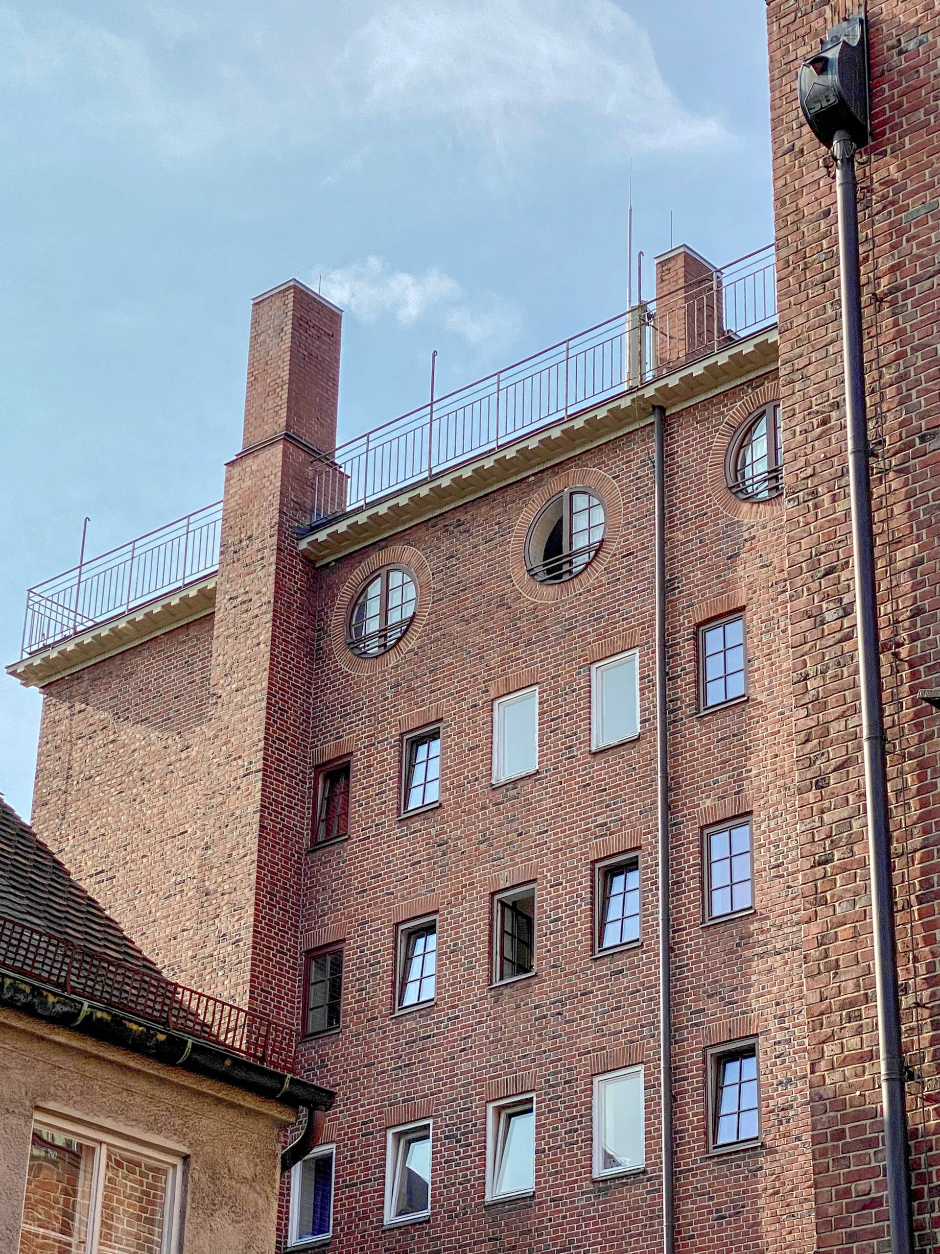 Ledigenheim, 1925-1927. Architect: Theodor Fischer