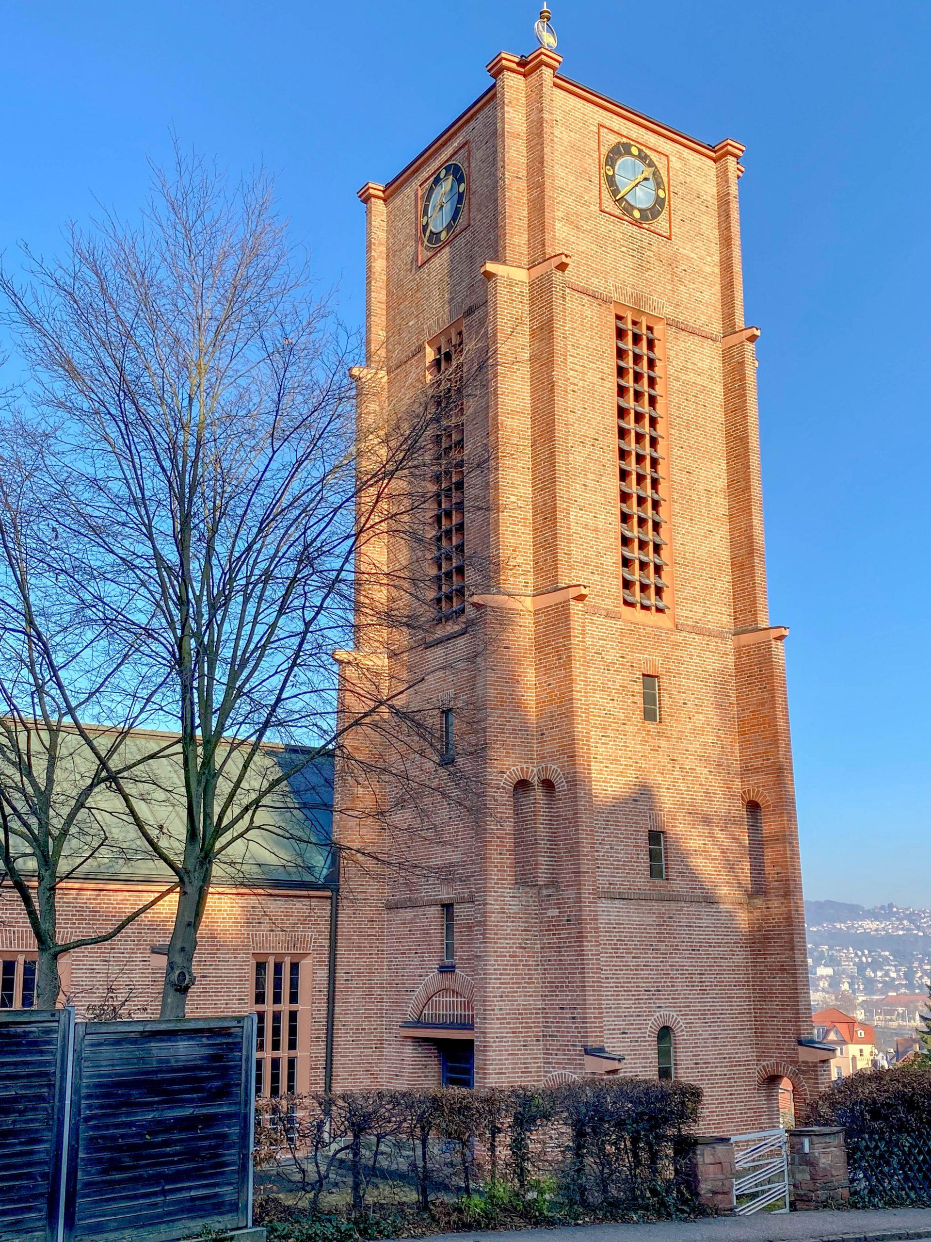Südkirche, 1925-1926. Architekt: Martin Elsaesser