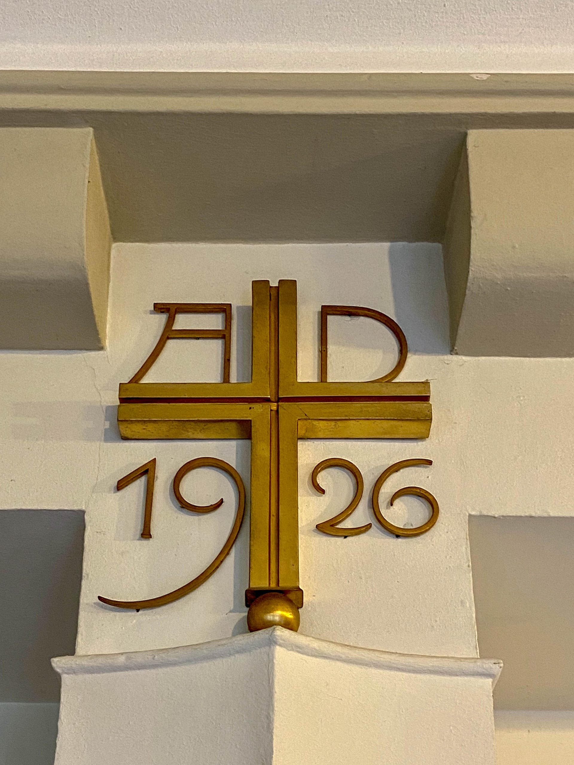 Protestant Südkirche, 1925-1926. Architect: Martin Elsaesser
